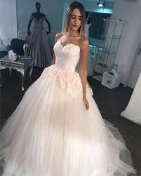 tulle wedding dresses gorgeous lace appliques sweetheart tulle gown wedding dresses