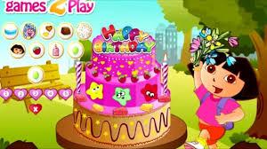 dora explorer birthday cake adventure baby kids learing