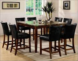 bar table with storage base kitchen 7 piece round dining set counter height table with storage