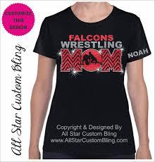 wrestling etsy wrestling mom chevron glitter and bling rhinestone shirt shirts