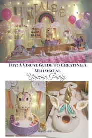 unicorns rainbows and all things magical diy party ideas and