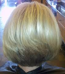 bob hairstyle with stacked back with layers angled bob hairstyles back view images followpics
