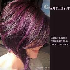 brown plum hair color the 25 best plum highlights ideas on pinterest dark plum hair
