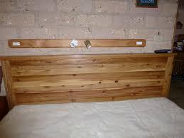 diy king size headboard bedroom wood arafen
