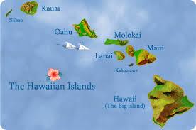 map of hawaii island map of hawaii featuring locations of hawaii hotels condos