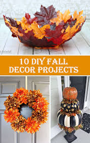Homemade Fall Decor - 10 diy fall decor projects u2013 diys to do