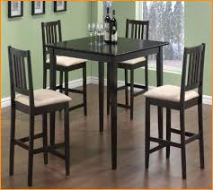target high top table high top table and chairs pub style dining room with black finish
