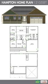 kent homes floor plans hampton 3 bedroom 3 bath ranch style home plan features open