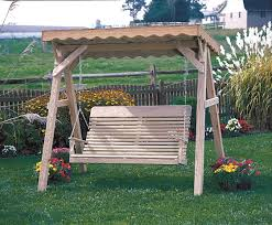 Swing Pergola by Cedar Roof For 5 U0027 A Frame Swing Stand Swingsets Luxcraft Poly
