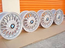 bmw e30 oem wheels bmw 15 bbs 5 e30 weaves 4x100 genuine factory oem wheels