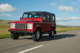 range rover defender 1990 land rover defender 110 station wagon xs 2016 review by car magazine