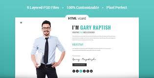 resume html template raptish premium vcard resume html template by premiumlayers