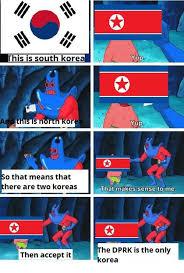 North Korea South Korea Meme - 25 best memes about south korea and dank memes south korea