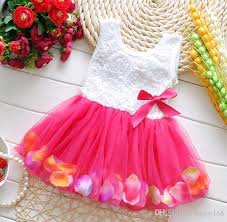 baby clothes flower dresses children dresses wedding