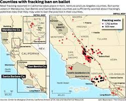 Redding California Map To Fight Fracking Bans Oil Firms Heavily Outspend