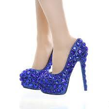 Cobalt Blue High Heels Online Buy Wholesale Blue Wedding High Heels From China Blue