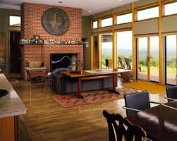 Executive Home fice Design Concepts With Fireplace