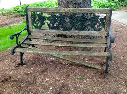 Building Wooden Garden Bench by Wooden Garden Bench Goodstuffathome