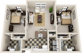 17 two bedroom apartment plans spectacular collection
