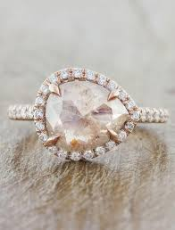 diamond pink rings images Audrix rough pink diamond rustic light pink diamond rose gold jpg