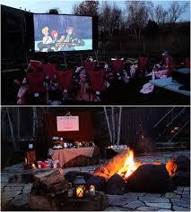 Backyard Movie Night Backyard Movie Camp Out Theme Valery Camp Party Pinterest