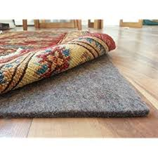 amazon com brand non slip area rug pad for floors 1