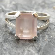 quartz engagement ring quartz engagement ring quartz ring sterling silver