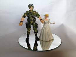 army wedding cake toppers cake topper soldier army princess fairytale wedding