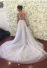 preowned wedding dresses paolo sebastian used and preowned wedding dresses nearly newly wed