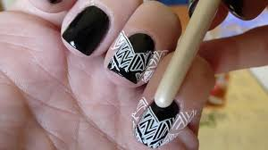 tips on lining up your nail stamping images youtube