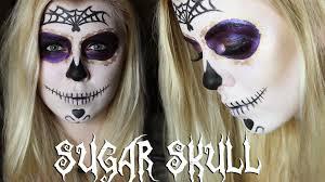 Halloween Skull Makeup Tutorial Sugar Skull Halloween Makeup Tutorial 2014 English Subtitles