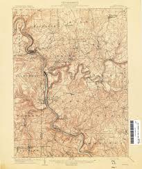 Map Qu Pennsylvania Historical Topographic Maps Perry Castañeda Map