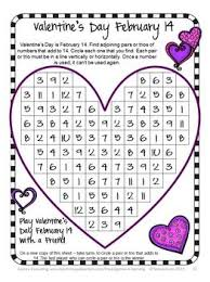 79 best valentines day images on pinterest math activities