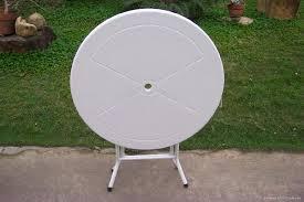 round plastic folding tables plastic white folding tables jukem home design