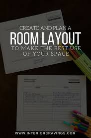 room layout create and plan a room layout to make the best use of your space