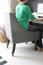 Diy Desk Chair A New Semi Diy Office Chair Desks Office Den And Office Spaces