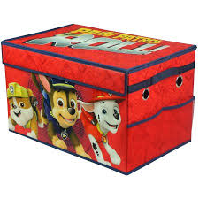 paw patrol boy collapsible toy storage trunk walmart