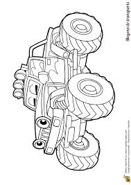 coloriage moyens de transport le beau 4x4