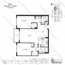 club floor plan yacht club at portofino unit 3010 condo for sale in south beach