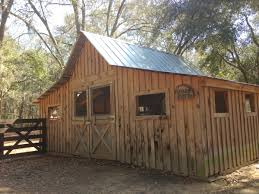 Small Barns Goat Farm Shed Structure