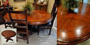 Tuscan Style Kitchen Tables by Oval Dining Tables Tuscan Style Oval Tables