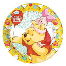 winnie the pooh themed party supplies paper plates party grotto