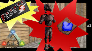 ark survival evolved chitin armor and dye episode 3 gameplay