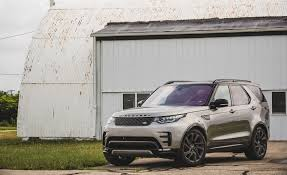 land rover discovery interior 2017 land rover discovery in depth model review car and driver