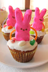 Easter Cakes Decorated With Peeps by Easter Basket Cupcakes A Fun U0026 Easy Diy Project