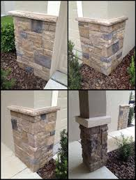 Best 25 Stone Columns Ideas by Faux Exterior Stone Aloin Info Aloin Info