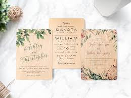 wedding invitations chicago wooden wedding invitations now available at woodsnap woodsnap