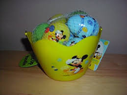 mickey mouse easter basket buy disney mickey mouse easter basket with eggs and light up