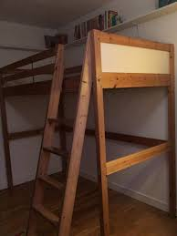ikea pine bed ikea vradal single pine loft bed with mattress and single futon