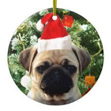 pug puppy ornaments keepsake ornaments zazzle